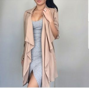 Tanner Nude Trench
